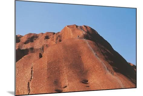Australia, Northern Territory, Uluru-Kata Tjuta National Park--Mounted Giclee Print