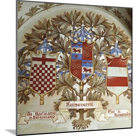 Coats of Arms of Italian Families--Mounted Giclee Print