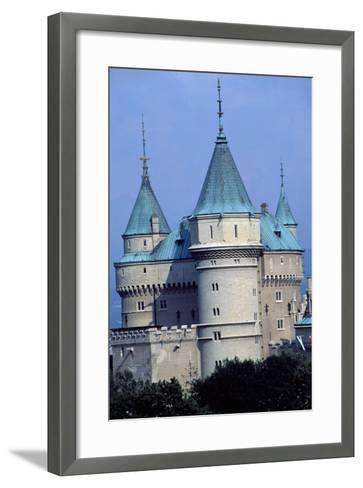 Bojnice Castle, Trencin, Detail, Slovakia--Framed Art Print