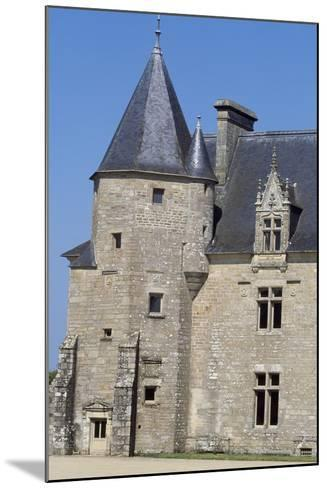 View of Chateau De Beaumanoir, Le Leslay, Brittany, France--Mounted Giclee Print