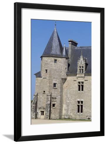 View of Chateau De Beaumanoir, Le Leslay, Brittany, France--Framed Art Print