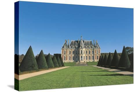 France, Ile-De-France, Sceaux, Castle--Stretched Canvas Print