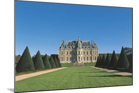 France, Ile-De-France, Sceaux, Castle--Mounted Giclee Print