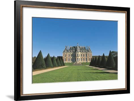 France, Ile-De-France, Sceaux, Castle--Framed Art Print