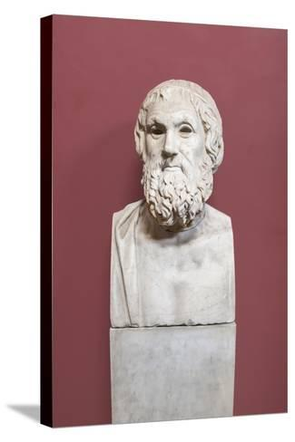 Portrait of Sophocles, Farnese Type, Vatican Museums, Rome, Italy--Stretched Canvas Print