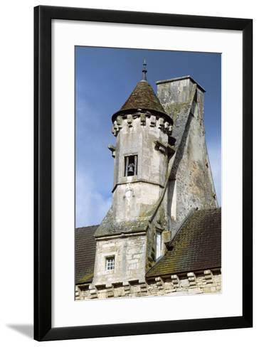 View of Chateau De Thenissey, Burgundy, France, 15th-16th Century--Framed Art Print
