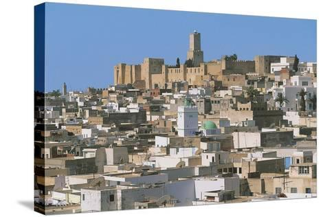 Tunisia - Ancient Sousse. Medina. UNESCO World Heritage List, 1988. 'Ribat' and Kasbah--Stretched Canvas Print