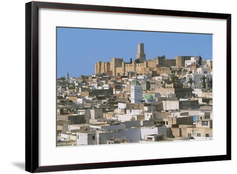 Tunisia - Ancient Sousse. Medina. UNESCO World Heritage List, 1988. 'Ribat' and Kasbah--Framed Art Print