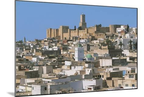 Tunisia - Ancient Sousse. Medina. UNESCO World Heritage List, 1988. 'Ribat' and Kasbah--Mounted Giclee Print