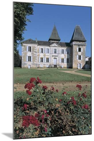Facade of a Castle, Coulaures, Dordogne, Aquitaine, France--Mounted Giclee Print