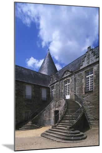 France, Brittany, Morbihan, Pontivy Rohan Castle--Mounted Giclee Print