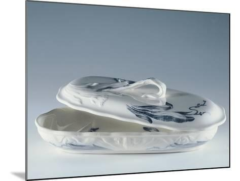 Toiletry Necessities, Porcelain--Mounted Giclee Print