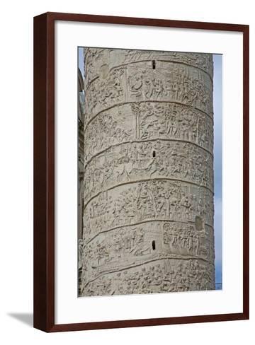 Emperor Trajan's Column--Framed Art Print