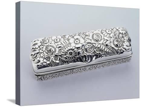 Box, Tiffany Manufacture, 925 Sterling Silver, United States of America, Early 20th Century--Stretched Canvas Print