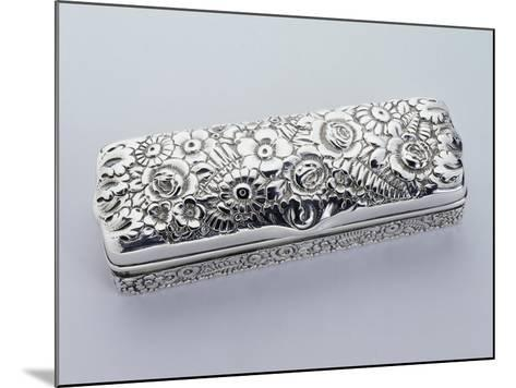 Box, Tiffany Manufacture, 925 Sterling Silver, United States of America, Early 20th Century--Mounted Giclee Print
