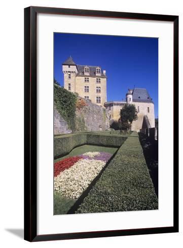 France, Aquitaine, Castelnaud-La-Chapelle, Fayrac Castle, 13th Century--Framed Art Print