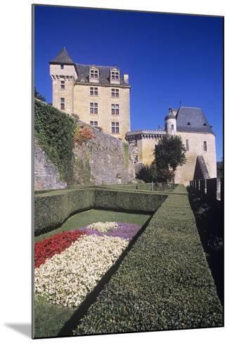 France, Aquitaine, Castelnaud-La-Chapelle, Fayrac Castle, 13th Century--Mounted Giclee Print