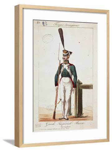 Uniforms of the Russian Army: Grenadier of the Imperial Guard--Framed Art Print