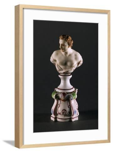 Male Bust Placeholder, 1770-1780--Framed Art Print