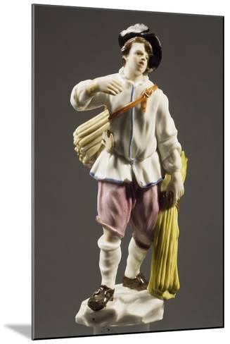 Peasant with Strip of Wood, 1760--Mounted Giclee Print