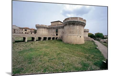 Italy, Marche Region, Senigallia, Rocca Roveresca Fortress--Mounted Giclee Print