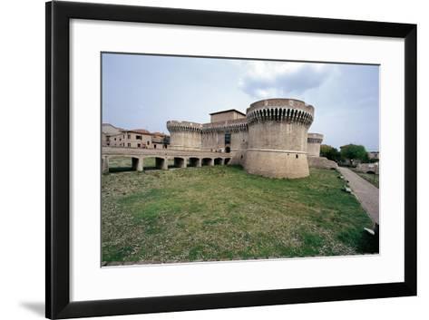 Italy, Marche Region, Senigallia, Rocca Roveresca Fortress--Framed Art Print