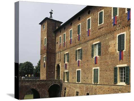 Rocca of Borgonovo Val Tidone, Emilia-Romagna. Italy, 12th-14th Century--Stretched Canvas Print