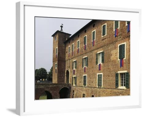 Rocca of Borgonovo Val Tidone, Emilia-Romagna. Italy, 12th-14th Century--Framed Art Print