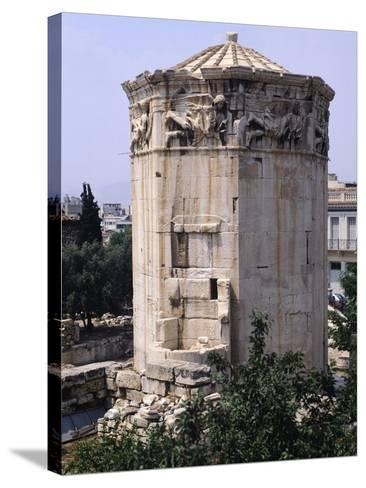 Greece, Athens, Roman Agora, the Winds Tower,2nd -1st Century BC, Ancient Greece--Stretched Canvas Print
