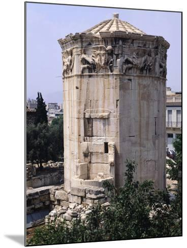 Greece, Athens, Roman Agora, the Winds Tower,2nd -1st Century BC, Ancient Greece--Mounted Giclee Print