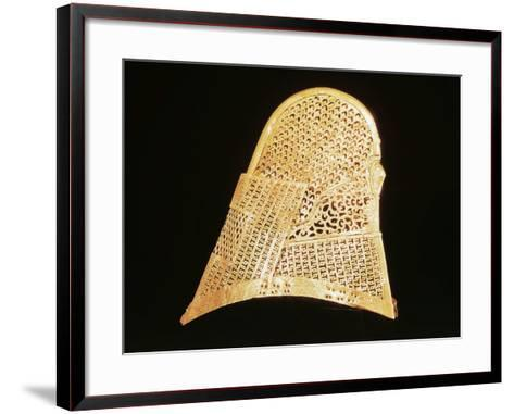 Golden Crown, Found in Inner Chamber of Chonmachong Tomb--Framed Art Print