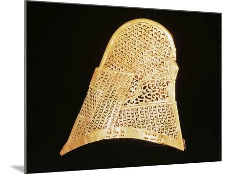 Golden Crown, Found in Inner Chamber of Chonmachong Tomb--Mounted Giclee Print