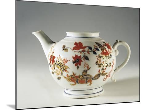 Chinoiserie Decorated Teapot, Ca 1760--Mounted Giclee Print