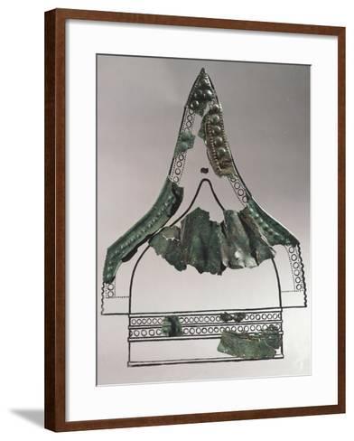 Fragments from Crested Helmet, from Cave of Flies, Skocjan, Slovenia--Framed Art Print