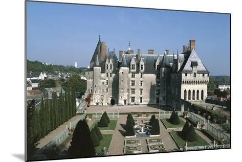France, Indre-Et-Loire, Langeais Castle Exterior--Mounted Giclee Print