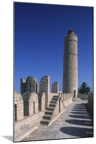 Tunisia, Ancient Sousse, Medina, Fortified Religious Building Ribat--Mounted Giclee Print