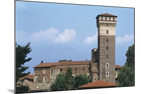 Italy, Piedmont Region, Castle of Rovasenda--Mounted Giclee Print