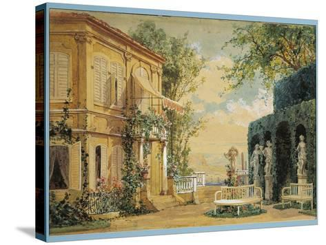Austria, Vienna, Set Design for Performance Thus Do They All or the School for Lovers--Stretched Canvas Print