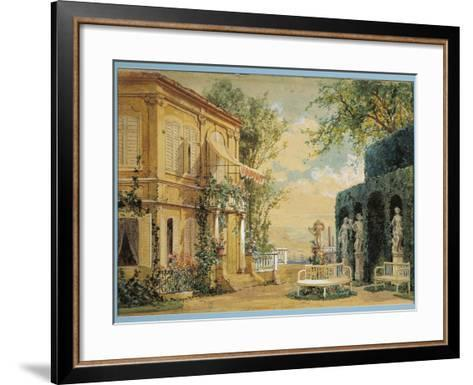 Austria, Vienna, Set Design for Performance Thus Do They All or the School for Lovers--Framed Art Print