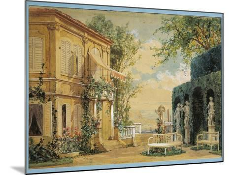 Austria, Vienna, Set Design for Performance Thus Do They All or the School for Lovers--Mounted Giclee Print