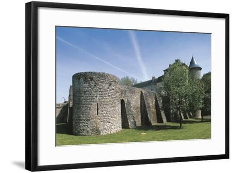 France, Ile-De-France, Nangis Castle--Framed Art Print