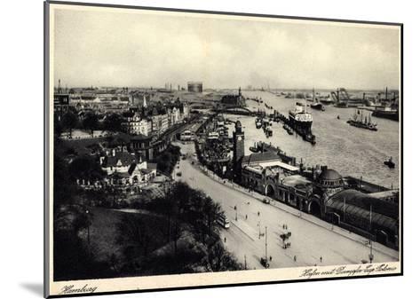 Hamburger Hafen, Dampfer Cap Polonio, Hsdg--Mounted Giclee Print