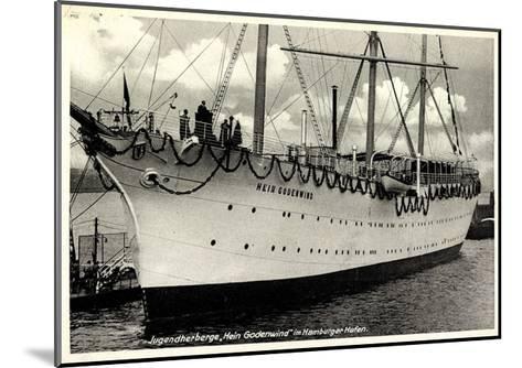 Hamburger Hafen, Segelschiff, Hein Godenwind--Mounted Giclee Print