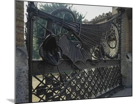 Wrought Iron Gates and Wire Mesh, 1884-1887--Mounted Giclee Print