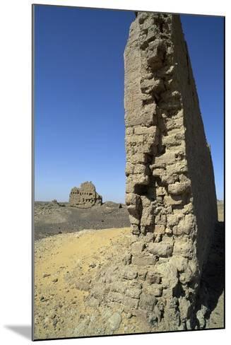 Remains of Roman Fortress of El Heiz, Giza, Egypt--Mounted Giclee Print
