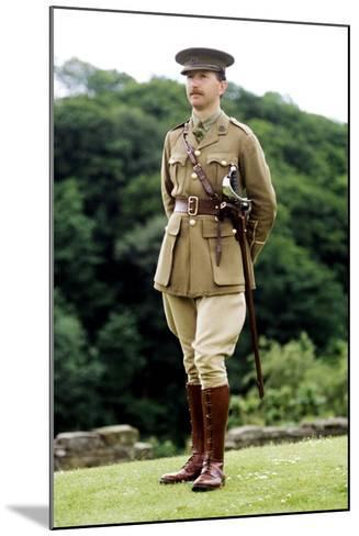 1st World War, British Officer, 1914 - 1918, Re-Enactment--Mounted Giclee Print