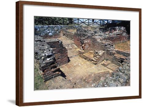 Ruins of Thermal Baths, Massaciuccoli, Tuscany, Italy AD--Framed Art Print