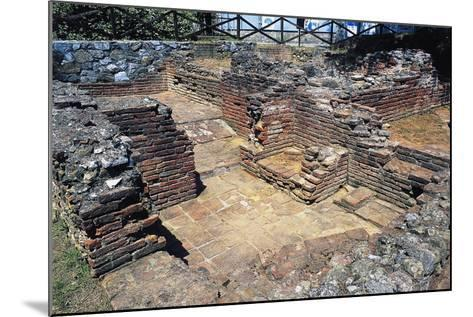 Ruins of Thermal Baths, Massaciuccoli, Tuscany, Italy AD--Mounted Giclee Print