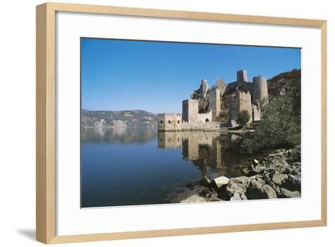 Serbia, Golubac Fortress, Mostly Built in 14th Century--Framed Art Print