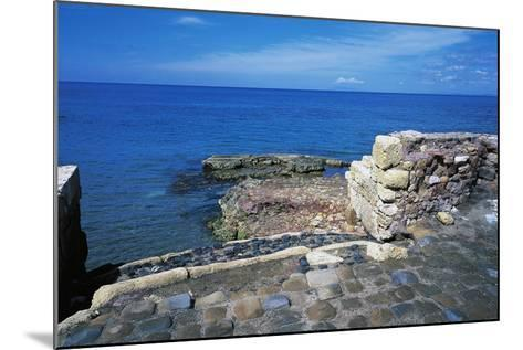 Ruins of Port of Clementine, Gravisca, Lazio, Italy--Mounted Giclee Print